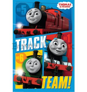 Poster - Thomas & Friends (Track Team)