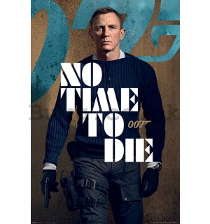 Poster - James Bond (No Time To Die - James Stance)