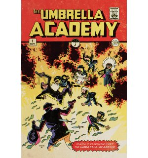 Poster - The Umbrella Academy (School is in Session)