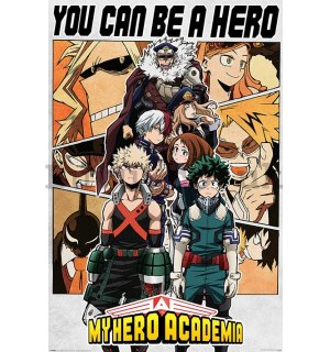 Poster - My Hero Academia (Be a Hero)