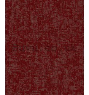 Vinyl wallpaper structured burgundy
