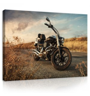 Painting on canvas: Motorbike (1) - 80x60 cm