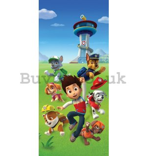 Wall mural vlies: PAW Patrol (Watchtower) - 90x202 cm