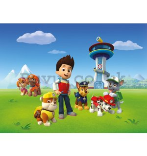 Wall mural vlies: PAW Patrol (Watchtower) - 360x270 cm