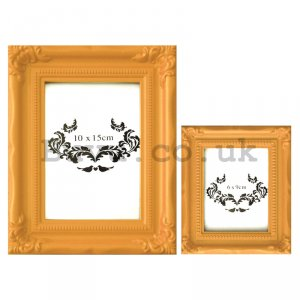 Photo frame - yellow set, 10x15cm | 6x9cm