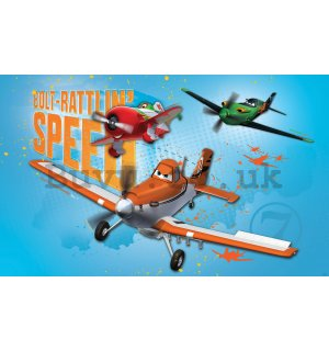 Wall Mural vlies: Planes (Bolt-Rattlin Speed) - 208x146 cm