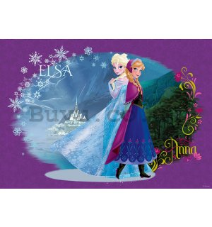 Wall mural vlies: Frozen (Elsa or Anna) - 104x70,5 cm