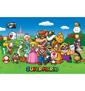 Poster - Super Mario (heroes)