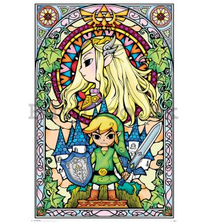 Poster - The Legend Of Zelda (Stained Glass)