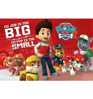 Poster - PAW Patrol (No Pup Is Too Small)