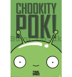 Poster - Final Space (Mooncake - Chookity Pok)