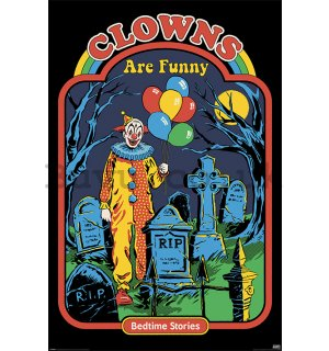 Poster - Steven Rhodes (Clowns Are Funny)