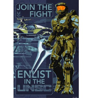 Poster - Halo Infinite (Join The Fight)