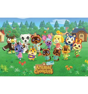 Poster - Animal Crossing (Lineup)