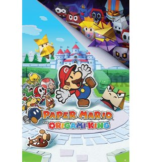 Poster - Paper Mario (The Origami King)