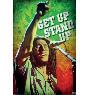 Poster - Bob Marley (Get Up Stand Up)