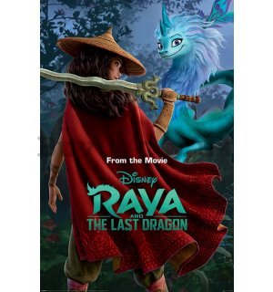 Poster - Raya And The Last Dragon (Warrior In The Wild)
