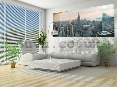 Wall Mural: Manhattan - 104x250 cm