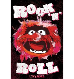 Poster - Muppets - Animal (Foil)