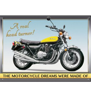 Metal sign - Kawasaki Z1