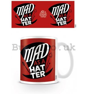 Mug - Alice in the Wonderland: Behind the Mirror (Mad As a Hatter)