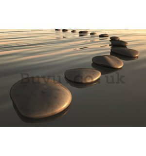 Wall Mural: Stones - 184x254 cm