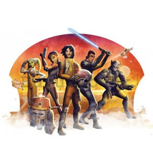 Wall Mural: Star Wars (Rebels) - 254x368 cm