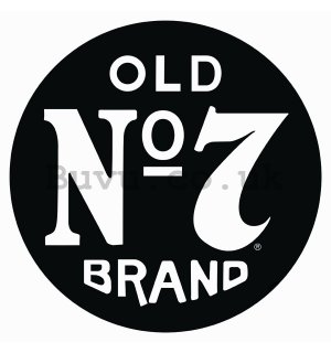 Metal sign - Old No. 7 Brand
