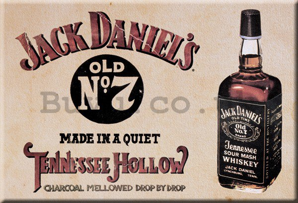 Metal sign - Jack Daniels (Tennessee Hollow)