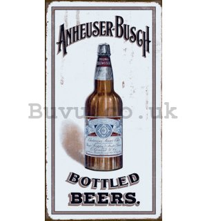Metal sign - Anheuser-Busch
