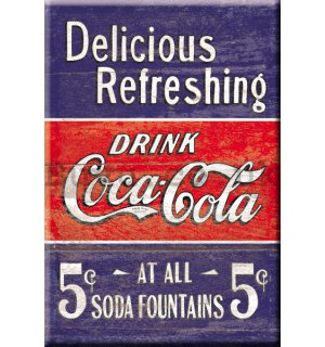 Metal sign - Coca Cola (drink)