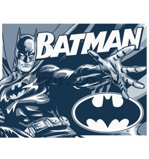 Metal sign - Batman (Black and White)