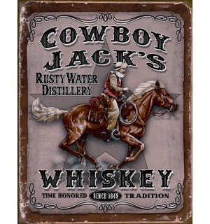 Metal sign - Cowboy Jacks