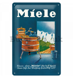 Metal sign - Miele