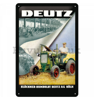 Metal sign - Deutz