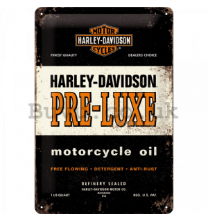Metal sign - Harley Davidson Pre-Luxe