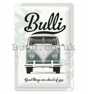 Metal sign: VW Bulli - 30x20 cm