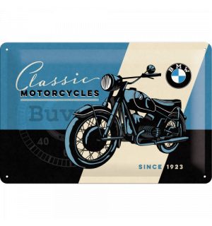 Metal sign - BMW (Classic motorcycles)