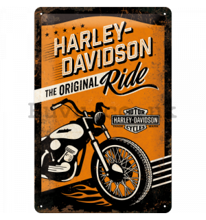 Metal sign - Harley-Davidson (The Original Ride)