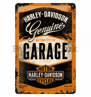 Metal sign: Harley-Davidson (Garage) - 30x20 cm