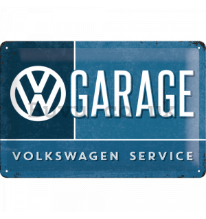 Metal sign - VW Garage
