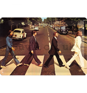 Metal sign - Beatles (Abbey Road)