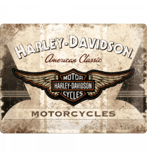 Metal sign - Harley-Davidson Motorcycles