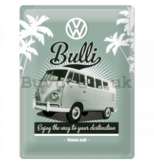 Metal sign - VW Retro Bully