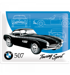 Metal sign - BMW 507 (Touring Sport)