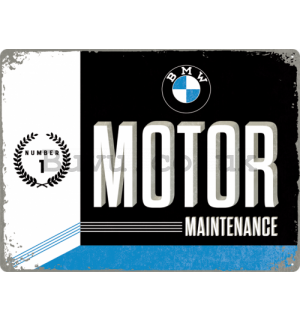 Metal sign - BMW Motor Maintenance