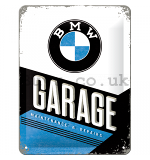 Metal sign - BMW Garage