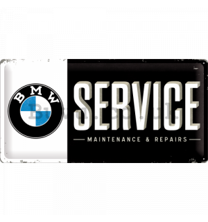 Metal sign - BMW Service