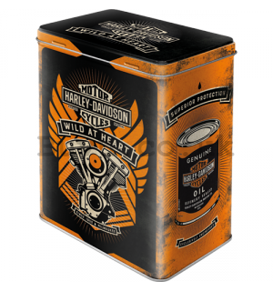 Tin box - Harley-Davidson (Wild at Heart)