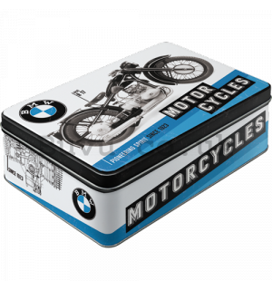 Tin box - BMW Motorcycles (Powering Spirit Since 1923)